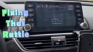 2018 2019 Honda Accord- Do you have a rattle?