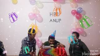 Birthday Party Anup With Bappy,Imran,Piash