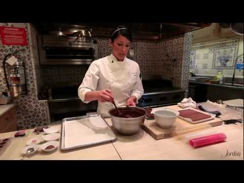 Chocolate Truffle Recipe Tutorial Demonstration: How to Make Soft Ganache and Firm Ganache Truffle