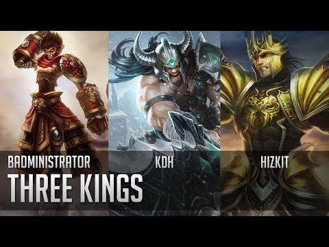 Badministrator - Three Kings w/ KDH and Hizkit (Wukong, Tryn, J4 Tribute)