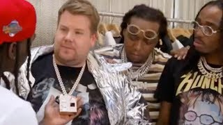 Migos Gives James Corden HILARIOUS Makeover!