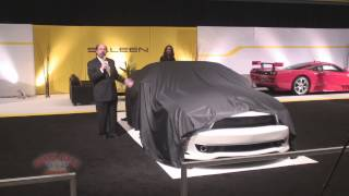 2013 LA Auto Show - Saleen Presentation of 30th Anniversary Edition Cars