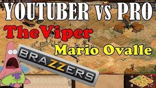 FAMOSO YOUTUBER VS MEJOR DEL MUNDO! THEVIPER vs MARIO OVALLE