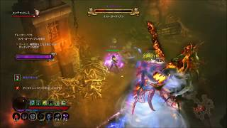 Diablo3 2.6.1 Wizard Energy Twister GR117 solo Clear PS4