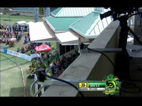 St. Kitts & Nevis Patriots beat Jamaica Tallawahs  | CEEN Sports News | July 6, 2015