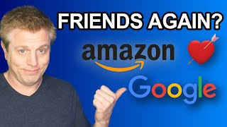 Amazon and Google Feud Over? Fire TV YouTube & Chromecast Prime Video