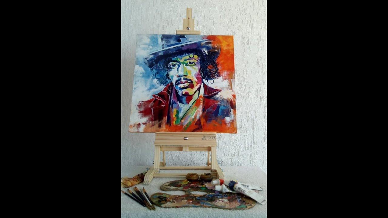 Caballetes en madera para pintor youtube - Caballetes de madera ...