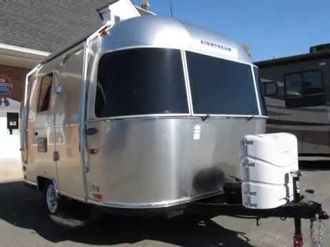 2012 Airstream Sport 16' Bambi New Bath - Sharksfin Little Small Travel Trailer Teardrop