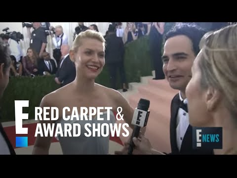 Claire Danes Stuns in Zac Posen at Met Gala 2016 | E! Live from the Red Carpet