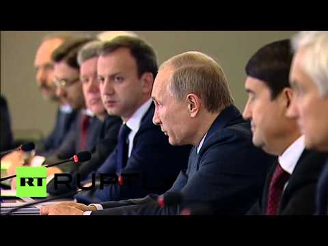 Russia: Putin sets 10-yr task for road network overhaul