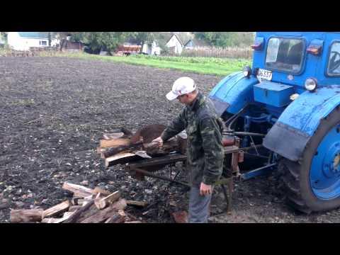 Дровокол своими руками на трактор