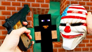 REALISTIC MINECRAFT - STEVE GETS ROBBED! 🔫