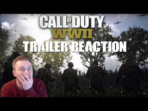 Call of Duty: WORLD WAR 2 TRAILER REACTION