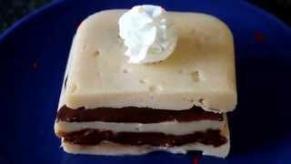 Bodybuilding meal: 5 Layer Vanila Chocolate CAKE