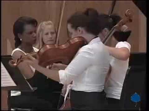 Dvorak Piano Quintet, 1st movement (part 2)