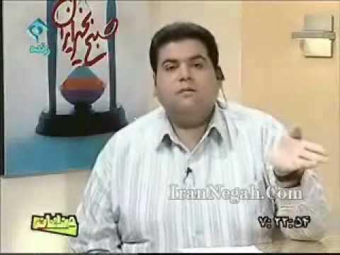 TV anchor funny joke on online registration in Iranian school