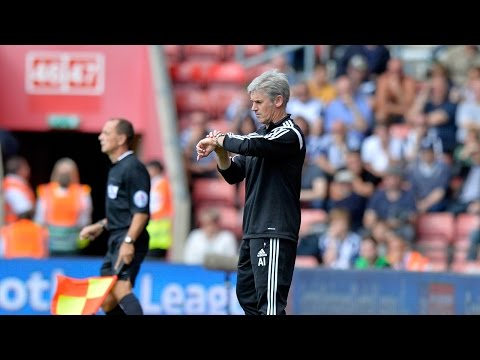Alan Irvine evaluates West Bromwich Albion's 0-0 draw at Southampton in the Premier League