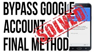 2016 - December ODIN METHOD BYPASS, DELETE, REMOVE GOOGLE ACCOUNT (ALL SAMSUNG)