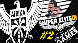 Rock & Rojo w Sniper Elite III: Afrika (#2) Te eksplozje, te heady! (Roj-Playing Games!)