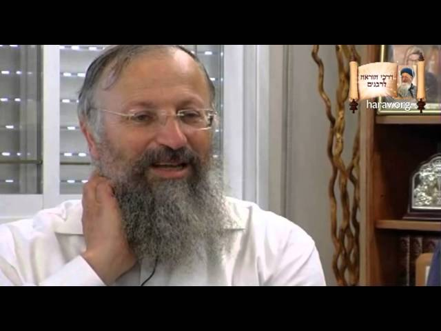 הרב שמואל אליהו בראיון על אביו מרן הרב מרדכי אליהו