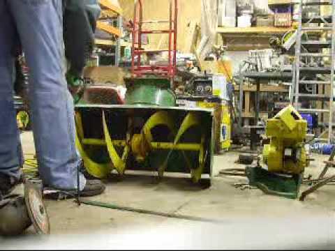 John Deere 826 Snowblower Carburetor Rebuild