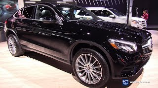 2018 Mercedes Benz GLC 300 4Matic Coupe - Exterior and Interior Walkaround - 2017 LA Auto Show