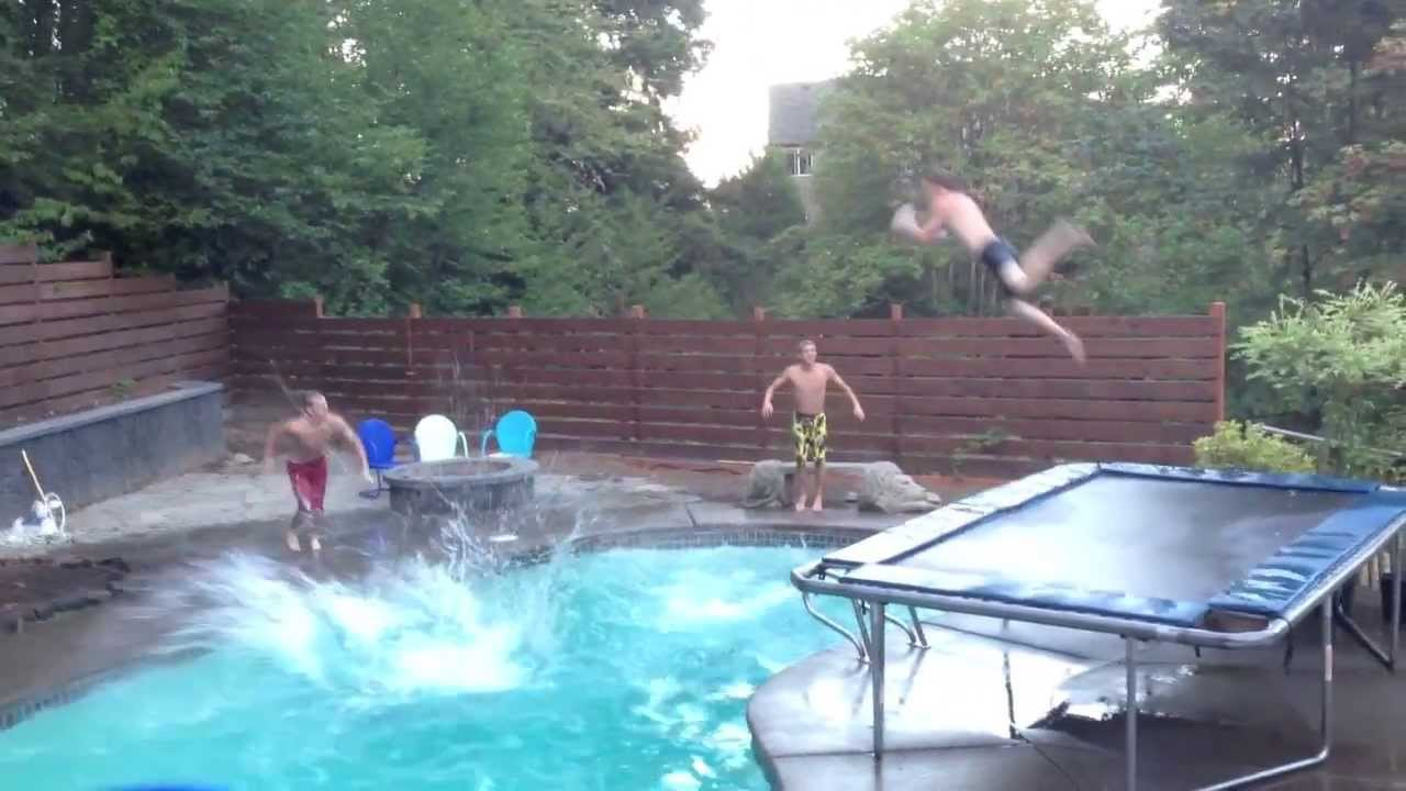 Best Pool Dunk Ever Youtube