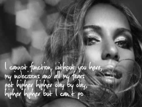 Leona Lewis - Can't Breathe (with lyrics on screen) HQ
