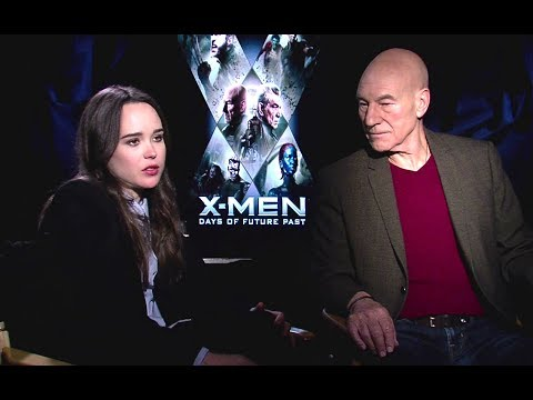 Ellen Page & Patrick Stewart Interview - X-Men: Days of Future Past (2014) JoBlo.com HD