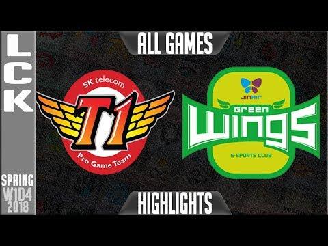 SKT vs JAG Highlights [1400 CS RECORD, LONGEST PRO GAME EVER] | LCK Spring 2018 S8 W1D4