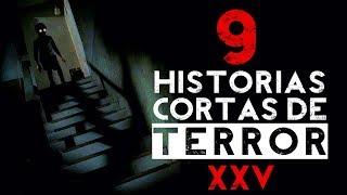 9 Historias cortas de terror XXV │ MundoCreepy │ NightCrawler