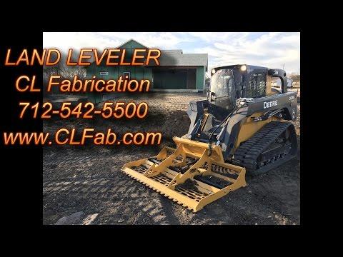 Land Leveler for Skidsteer By CLFab