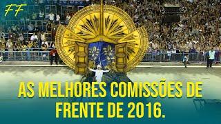 As melhores comissões de frente de 2016 que passaram na Sapucaí.