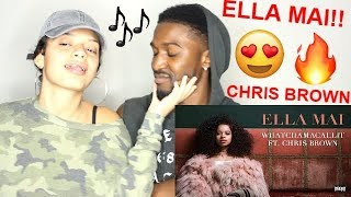 Ella Mai Ft Chris Brown 34 Whatchamacallit 34 Audio Reaction Jaz Alex