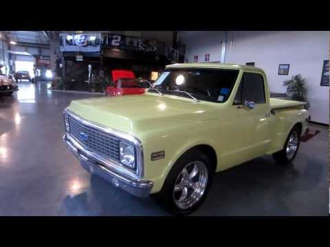 SOLD 1972 C10 Step Side 454 700R4  For Sale. Passing Lane Motors. Classic Cars