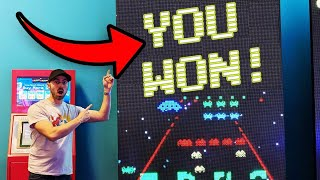 I WON A SPACE INVADERS ARCADE GAME!!! ArcadeJackpotPro