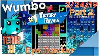 Tetris 99 - Flawless Stream 18 Win Streak - Wumbo 475+ Wins