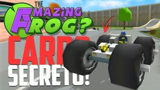 CARRO SECRETO! - Amazing Frog