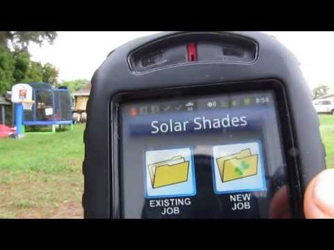 Solar Shading  App On Your Smart Phone by kvusmc