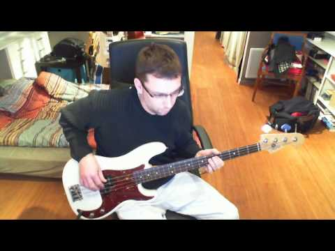 Bauhaus - Kick In The Eyes - Bass Cover