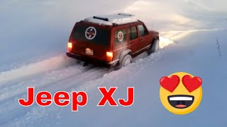 Jeep Cherokee XJ - Deep Snow