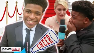 Celebs FLIP OUT Over 'Cheer' Star Jerry Harris On Red Carpet!