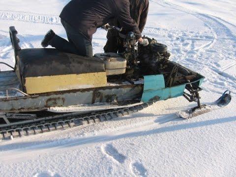 Смотреть онлайн снегоход своими руками