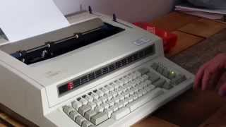 Vintage IBM by Lexmark Electric Wheelwriter 2 Typewriter