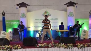 Download GREEN UNIVERSITY 2nd convocation(amar sona bondhu re cover by Riad hossain) 3Gp Mp4