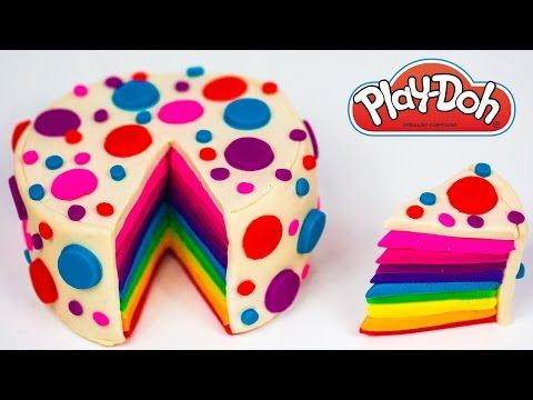 How to Make Play Doh Rainbow