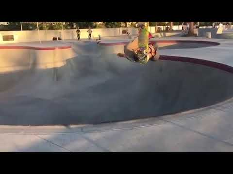 Epic trick for a young grom @luke__sk8r | Shralpin Skateboarding