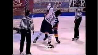 Jason Spence vs. Daniel Archambault QMJHL 5/12/97