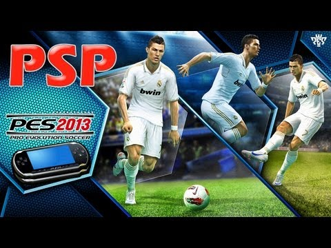 PRO EVOLUTION SOCCER 2013 - PSP - Gameplay - FC Barcelona Vs Real Madrid  [HD] (1/2)