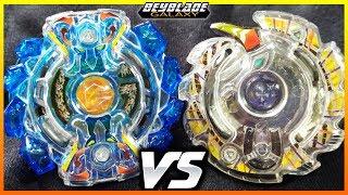 Gigant Gaia .V.Cy vs Unlock Unicorn .U.X - [Beyblade Burst] - ベイブレードバースト